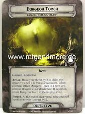 Lord of the Rings LCG - 1x mazmorra Torch #109