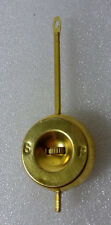 Adjustable Brass 3 1/2 Inch Pendulum for Ansonia Porcelain Clocks & Others