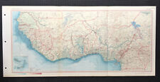 Map Of West Africa  1967 Large