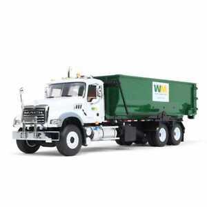 1:34 FIRST GEAR *WASTE MANAGEMENT* MACK GRANITE w/Tub Roll-Off Dumpster *NIB*