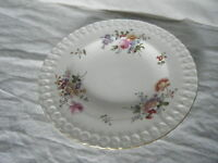 C4 Porcelain Royal Crown Derby Posies No.839892 Plate Medium Embossed 22cm 1A2E