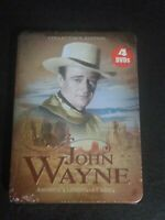 John Wayne Collector's Edition America's Legendary Hero  4 Disc DVD Tin Box set