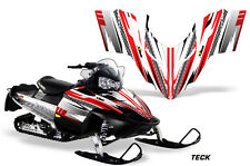 AMR Racing Sled Wrap Polaris Switchback Snowmobile Graphics Kit 06-10 TECK RED