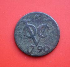 Pays-Bas: COV (Dubbel) 2 duit 1790, Province D'Utrecht, #f 2106