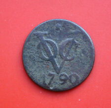 Países Bajos: COV (Dubbel) 2 Duit 1790 Star, provincia de Utrecht, # f 2106