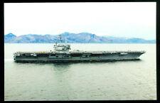 USS Ronald Reagan CVN-76 postcard US Navy aircraft carrier (card #4)