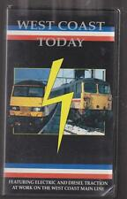 West Coast Today (VHS) Transport Video Publishing ~ Railway Video Tape