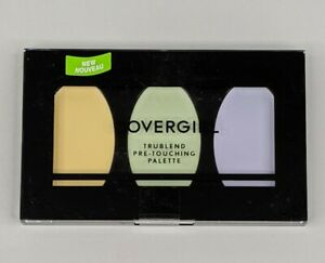 CoverGirl TruBlend Pre-Touching 3 Colors Correcting Palette Yellow Green Purple