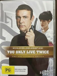 James Bond 007 In You Only Live Twice DVD. 2 Disc Ultimate Edition. Free Postage