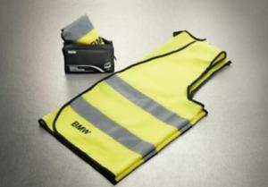 BMW GENUINE REFLECTIVE SAFETY WARNING VEST - 2 PACK