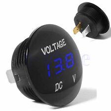 Blue 12V LED Digital Display Voltage Volt Meter Voltmeter Car Motorcycle TW