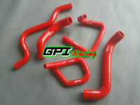 RED Silicone Radiator Hose Kit for Ford Falcon BA BF XR6 Turbo new