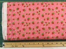 Jennifer Heynen Strawberry Festival Fabric For In The Beginning /Per Yard
