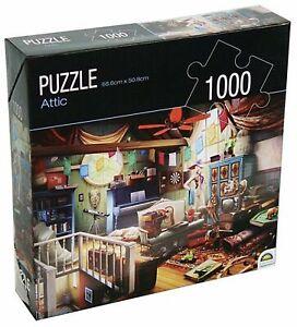 Huntington Green Series 1000 Piece Jigsaw Puzzle ATTIC By Sergio 68.6 x 50.8cm