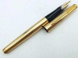 Y5404  PARKER 75 Fountain Pen*  14K Gold 585    XF