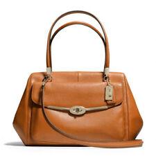 NWT Coach Madeline Leather LARGE East/West Satchel Bag