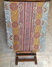 Aboriginal Dot Painting Australia Tribal Art Picture