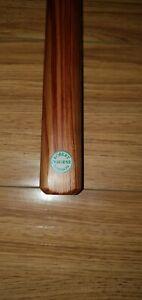 1 Piece Robert Osborne Maple Green Plate Cue With Certificate