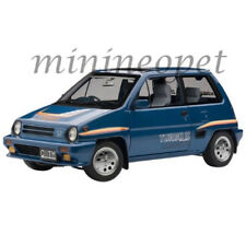 AUTOart 73283 HONDA CITY TURBO II 1/18 MODEL CAR BLUE with MOTOCOMPO in WHITE