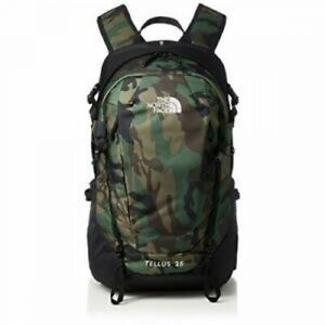 THE NORTH FACE Backpack TELLUS 25 NM61811 30L MW Green Polyester