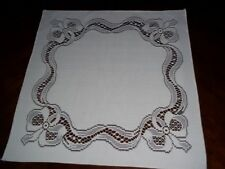 LACE NAPKIN IVORY 18 X 18 FORMAL DINING INM802