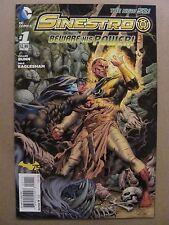 Sinestro #1 NEW 52 DC Comics 2014 Series 9.6 Near Mint+