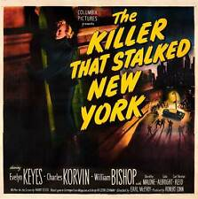 THE KILLER THAT STALKED NEW YORK Movie POSTER 30x30 L a Seydoux Ana s Demoustier