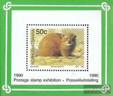 Bophuthatswana Blok 5 (compleet.Kwestie.) First Day Cover 1990 Zoogdieren