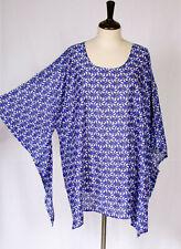 L1X 2X 3X Cotton Kaftan Caftan Kimono Sleeve Top P1417-1
