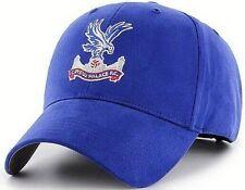 Crystal Palace FC Brodé Cimier Adulte Ajustable Bleu Casquette de Baseball Cpfc