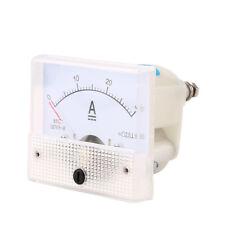 EG _ DC30A ampèremètre analogique Panneau Amp ACTUEL mètre 0-30A DC ne besoin