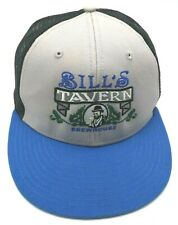 BILL'S TAVERN / BREWHOUSE (OR) gray / black / blue adjustable cap / hat