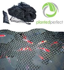 15 x 20 FT POND NET COVER - Easy Setup Pool and Fishpond Nylon Netting