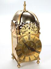 alte LATERNEN-Uhr, England um 1850