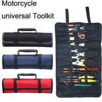 Universal Portable Multifunction Motorcycle Tool Bag Oxford Pocket Kit Roll Bag