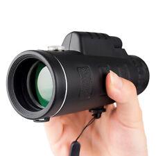 40X60 Portable Monocular Telescope Day/Night Vision Optical Lens For Travel W1U3