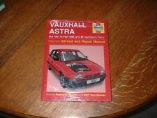 NEW VAUXHALL ASTRA HAYNES MANUAL.1991 TO 1998. J TO R REGISTRATION.