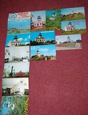 8 Vintage Point Loma Lighthouse Postcards