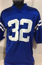 """Edgerrin James Blue Indianapolis Colts Jersey """"32"""" Large"""