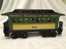 Jim Beam Passenger Car Train Decanter Central Railroad of NJ