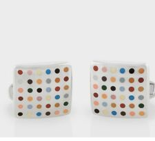 NWT Paul Smith Enamel Spot Cufflinks in giftbox. Great gift! Buy/make offer!