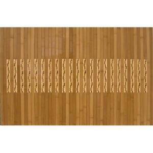 Anji Mountain AMB0090-2048 20 in. x 48 in. High Gloss Inlaid Bamboo Kitchen-B...
