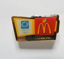 Athens Olympics 2004 McDonalds Main Sponsor Badge