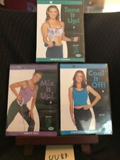 New Lot of 3 Debbie Siebers Slim in 6 Series Beach Body Workout Exercise Dvds!
