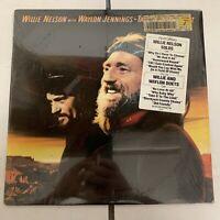 Willie Nelson Waylon Jennings Take It to the Limit LP Shrink Hype Sticker Vinyl