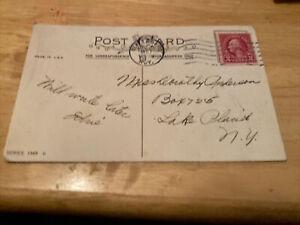 1927 Vintage George Washington RED 2cents2 Postage Stamp Used US 2c RARE