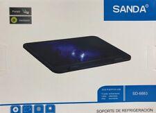 BASE REFRIGERADORA SANDA SD-6883-140MM-SILENCIOSA-DC 5V-DOS PUERTOS USB