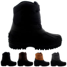 Ladies Nylon Waterproof Safety Winter Muck Single Strap Calf Boots All Sizes