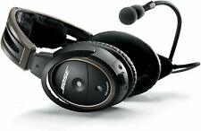 Bose A20 Aviation Headset with Bluetooth Dual Plug Cable, Black New!!!