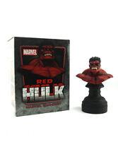 Bowen Designs Red Hulk Mini Bust Marvel Sample 157/700 New In Box Avengers